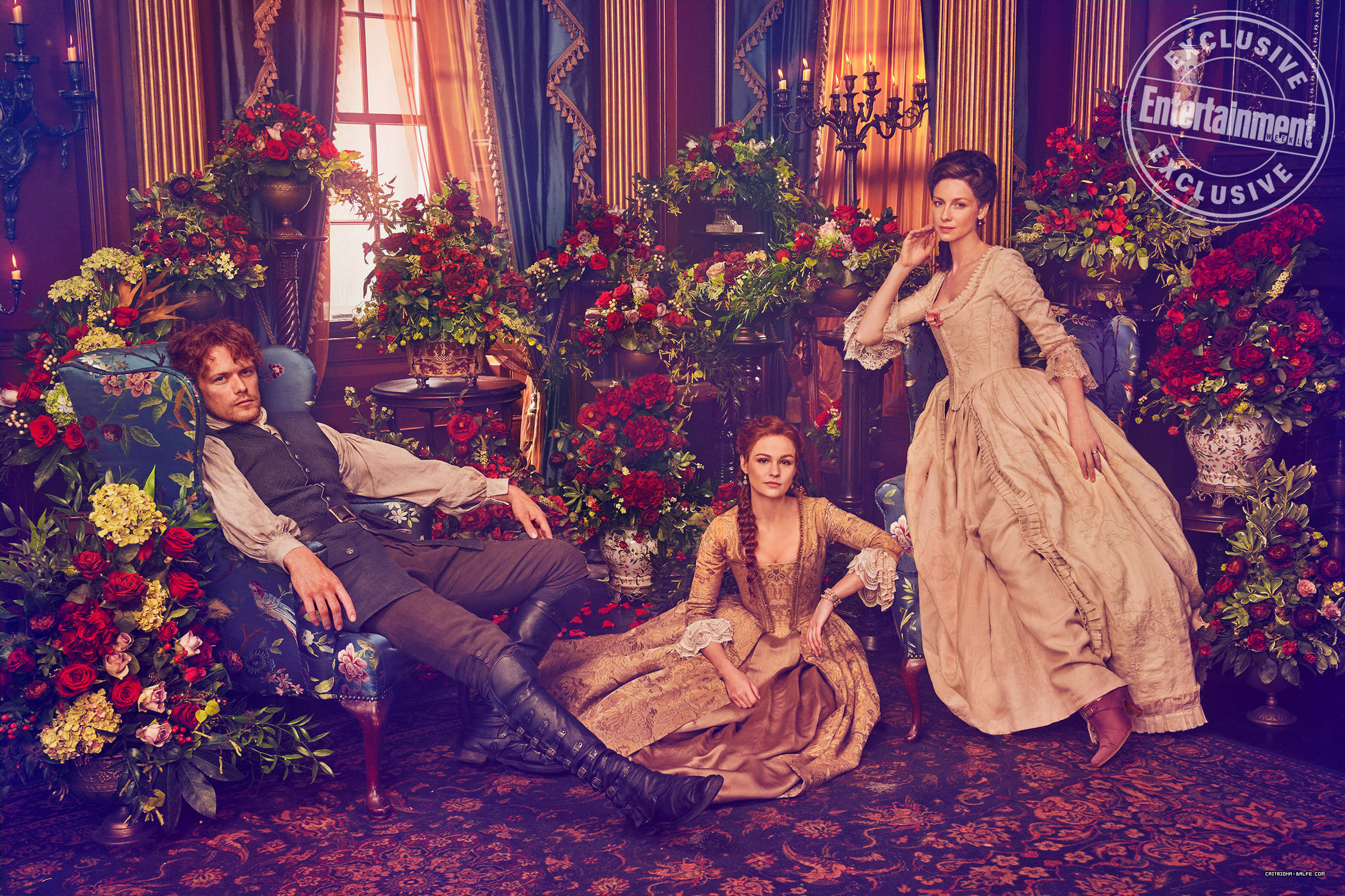 Press/Photos: 'Outlander' – See the first Fraser family portrait